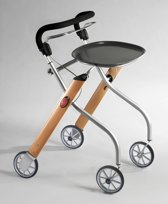 Trust Care Let's Go Indoor Rollator - Teak