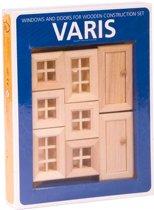 Varis Toys - Constructie Set - Ramen en Deuren II - 8 stuks