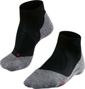 Falke RU4 Cushion Short - Hardloopsokken - Heren - Zwart - Maat 42/43