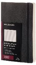Moleskine 12 month planner - daily - large - black - soft cover