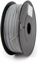 Gembird3 FF-3DP-PLA1.75-02-GR - Filament (600 g) PLA, 1.75 mm, 53 mm spoel, grijs