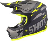 Shot Crosshelm Furious Score Grey/Neon Yellow Matt-L