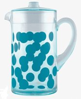 Zak! Designs Dot Dot - Waterkan 2 l - Blauw