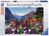 Ravensburger legpuzzel 3000 Flowery Mountain