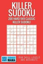 Killer Sudoku: 200 Hard 9x9 Classic Killer Sudoku
