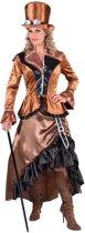 Steampunk Kostuum | Bronzen Steampunk Blackburn Fantasie | Vrouw | Large | Carnaval kostuum | Verkleedkleding