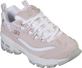 Skechers D'Lites- Biggest Fan Sneakers Meisjes - Light Pink - Maat 34