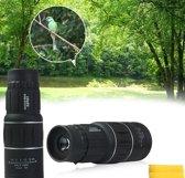 Professionele HD Monokijker 16x52 Dual Focus | Optische Lens met 16x optische zoom | Monocular Telescoop | Professionele verrekijker | 66M/8000M