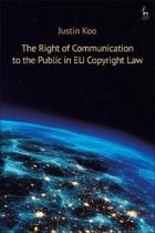 The Right of Communication to the Public in EU Copyright Law