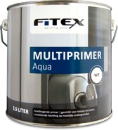 Fitex-Multiprimer Aqua-Ral 9016 Verkeerswit-2,5 liter
