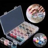 Diamand painting sorteerbox 28 vakjes - sorteerdoos - opbergdoos