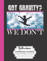 Got Gravity? We Don't