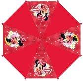 Disney Minnie Mouse Kinderparaplu - Ø 80 cm - Rood