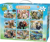Animal World 9in1 Puzzle Pack