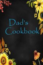 Dad's Cookbook: Blank Recipes Book, My Recipes & Notes, Recipe Journal: Blank Cookbook Recipes & Notes: Recipe Journal, Recipe Book, C