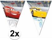 Plastic Disney Cars vlaggenlijn / slingers 6 meter