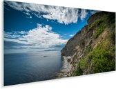 Kust van het Nationaal park Forillon in Quebec Plexiglas 40x20 cm - Foto print op Glas (Plexiglas wanddecoratie)