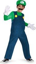 Luigi�  Deluxe verkleedpak voor kinderen - Verkleedkleding - 128/134