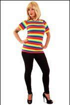 Regenboog shirt mt. XL
