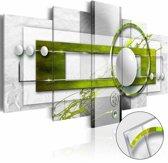 Afbeelding op acrylglas - Energie in het groen
