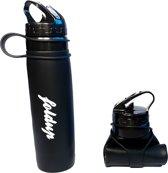 Drinkfles - Foldup - Dé Originele Opvouwbare Waterfles - 600ml - BPA vrij