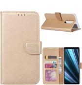 FONU Bookcase Sony Xperia 1 - Goud