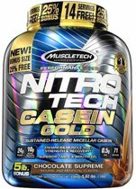 Nitro Tech Casein Gold 2270gr Chocolade