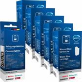 5x Brita Intenza Waterfilter - Bosch - Siemens waterfilter TCZ7003 / TZ70003 / 575491 + Bosch/Siemens Reinigingstabletten