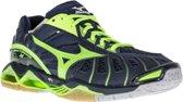 Mizuno Wave Tornado X  Sportschoenen - Maat 42.5 - Unisex - groen/blauw