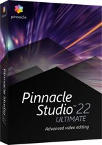 Pinnacle Studio 22 Ultimate - Nederlands / Engels / Frans - Windows