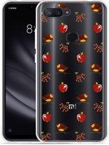 Xiaomi Mi 8 Lite Hoesje Apples and Birds