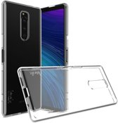Sony Xperia 1 TPU Hoesje Luxe Transparant
