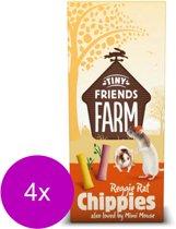 Tiny friends farm reggie chippies chicken - 4 ST à 120 GR