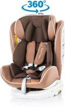 Autostoel Tourneo isofix mokka 0-36 kg 360 graden draaibaar