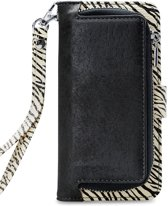 Mobilize 2in1 Gelly Wallet Zipper Case Samsung Galaxy A70 Black/Zebra