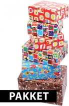 Sinterklaas cadeaupapier pakket 5 rollen