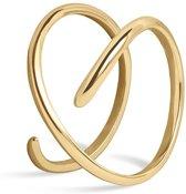 FAEMD Curves Ring - Goud 6