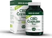 Medihemp CBD Capsules 2,5% - 30 capsules