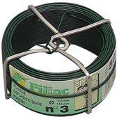 HJZ ijzerdraad groen geplastificeerd 1.5 mm nr.5 (50m) ijzer draad
