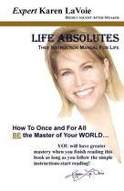 Life Absolutes Thee Instruction Manual for Life