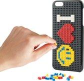 KSIX Speelblokken Cover - iPhone 7 plus en iPhone 8 Plus - Zwart