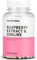 Raspberry Extract & Choline (180 Capsules) - Myvitamins