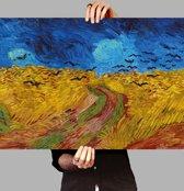 Poster Korenveld met kraaien - Vincent van Gogh