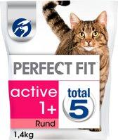 Perfect Fit Active - Rund - Kattenvoer - 1.4 kg