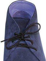 Schoenveters elastisch zwart
