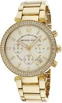 Michael Kors MK5354 - Horloge - 40 mm - Goudkleurig