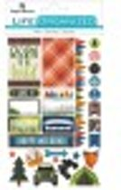 Paper House Life Organized planner stickers Outdoors