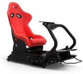 Rseat S1 Black Frame / Red Chair