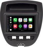 DAB+ Citroen C1 Carplay en Android auto navigatie autoradio