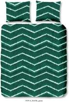 Good Morning 5939-A Batik - dekbedovertrek - eenpersoons - 140x200/220 cm  - 100% katoen - groen